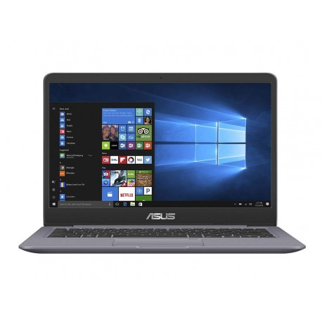 "Asus Notebook con Monitor 14"" HD No Glare, Intel Core Core I5-8250U, RAM 8 GB, SSD 256 GB, Grey Metal"