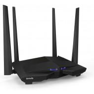 Tenda AC10U Gigabit Router Wi-Fi Dual Band AC1200 Wireless, 4 Porte Gigabit, 1 Porta USB 2.0, Parental Control e Rete Ospiti