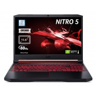 Acer Nitro 5 AN515-54-76NQ Notebook Gaming con Proc Core i7-9750H, RAM da 16GB DDR4, 512GB PCIe NVMe SSD, Display 15.6