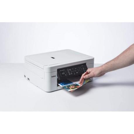 Brother Stamp. Multif. Inkjet a Colori A4 con Connet. per Dispos. Mobili e Wireless, Aliment. Automat. e Display LCD da 4.5 cm