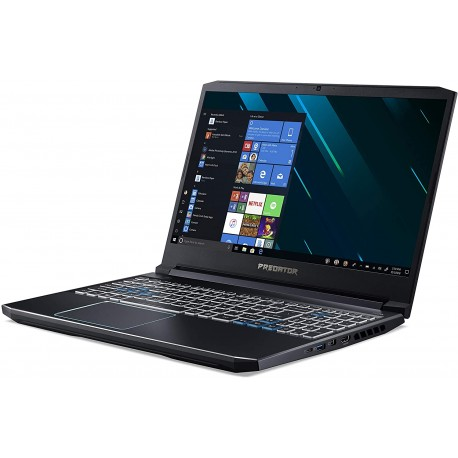 Predator Helios 300 PH315-52-78YQ Notebook Gaming, Intel Core i7-9750H, Ram 16 GB DDR4, 256 GB SSD, 1000 GB HDD, Display 15.6""