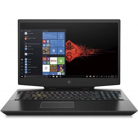 Notebook Gaming PC, Core i7-9750H, 16GB di RAM, SATA 1TB & SSD 256GB, Nvidia GeForce RTX 2070, Display 17.3 FHD IPS Antiriflesso