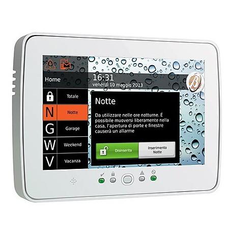 Tastiera TouchScreen x centrale Absoluta con cornice digitale