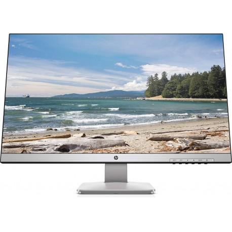 """HP 27q TN Monitor 27"""" QHD, 2ms con Overdrive, Low Blue Light, 2560 x 1440, Hdmi, Dvi, DisplayPort, Bordi Ultrasottili"""