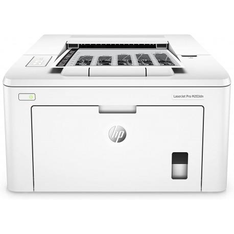 HP M203DN LaserJet Pro Stampante Monocromatica, Standard, Bianco