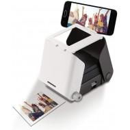 KiiPix Kit Stampante fotografica per Smartphone con pellicola Fujifilm Instax Mini (10 foto), Nero