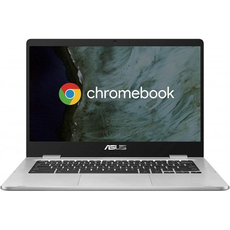 "ASUS Chromebook Notebook in alluminio 14"" FHD Touchscreen Glossy, Intel Pentium N4200, RAM 4GB LPDDR4, 64G eMMC"