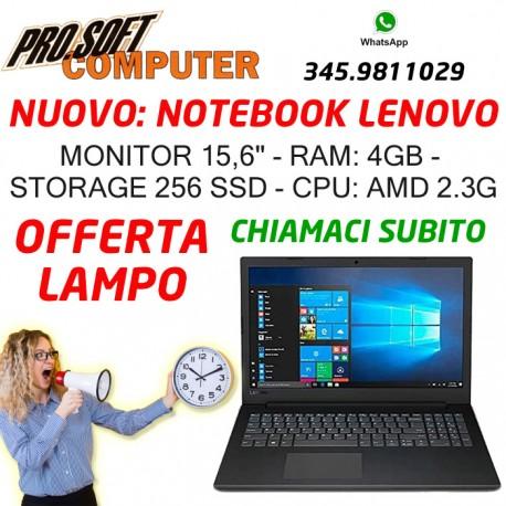 "NOTEBOOK LENOVO V145-15AST 4GB 256GB SSD 15,6"" WIN 10 HOME"