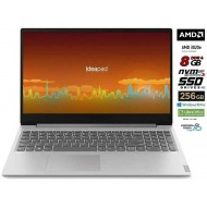 "Notebook Lenovo Silver 8 Gb DDR4, SSD M.2 PCi da 256Gb cpu Amd A4 3020 di ultima generazione, Display Hd da 15,6"", web cam"