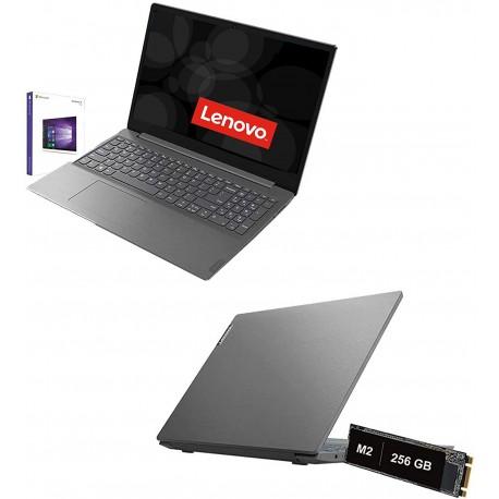 """Notebook Lenovo amd A4-3020E fino a 2,6 Ghz Display 15,6"""" Hd,Ram 4Gb Ddr4,Ssd 256 Gb M2"""