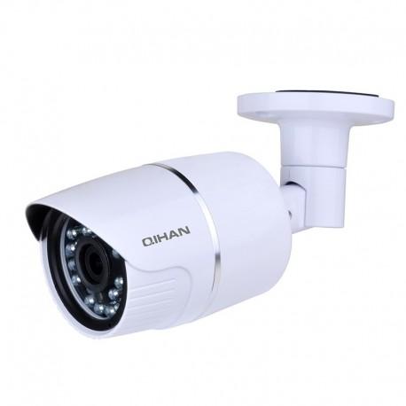 H.264 IP Waterproof Camera, 30FPS@1080P, Dual Streams, ONVIF, With IR-CUT