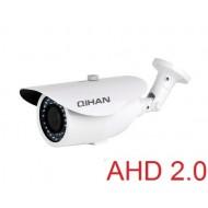 AHD 2.0 MegaPixel Bullet Camera, Sony Exmor CMOS, 2.8-12mm