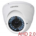 QIHAN AHD 2.0 MegaPixel Dome Camera, Sony Exmor CMOS, 2.8-12mm