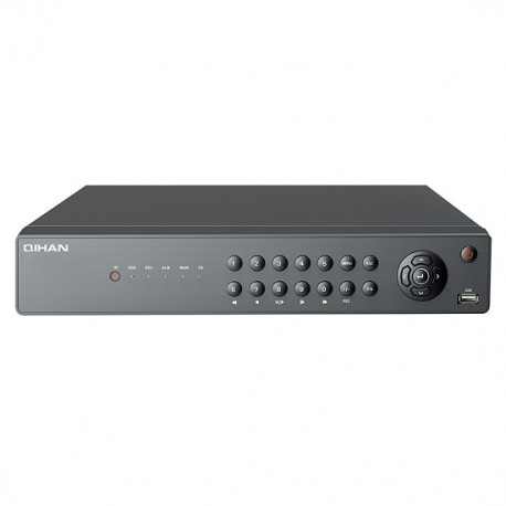 QIHAN 16 Canali Tribrido 2.0 MPixel, AHD/IP/Analogico, Fino a 24TB