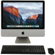 """iMac 20"""" 2007 - 1680 x 1050 LED - Intel Core 2 Duo 2GHz - 2GB RAM - Ati Radeon HD 2400XT - 500GB HDD - OSX EL Capitain"""